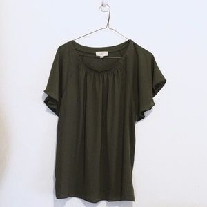 Loft Outlet Green Blouse